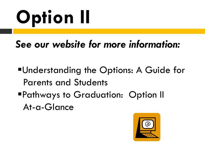 Option II