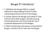 bougie et introducer4