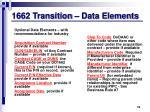 1662 transition data elements3