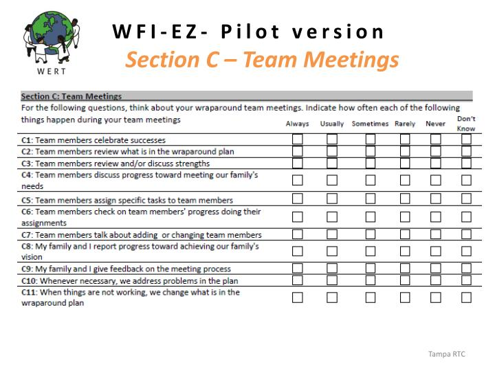 WFI-EZ- Pilot version