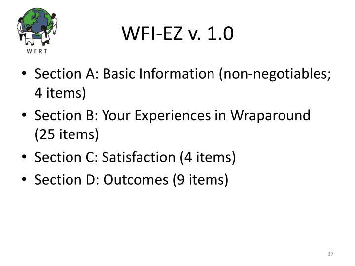 WFI-EZ v. 1.0