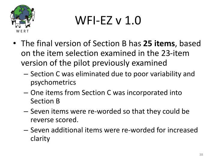 WFI-EZ v 1.0