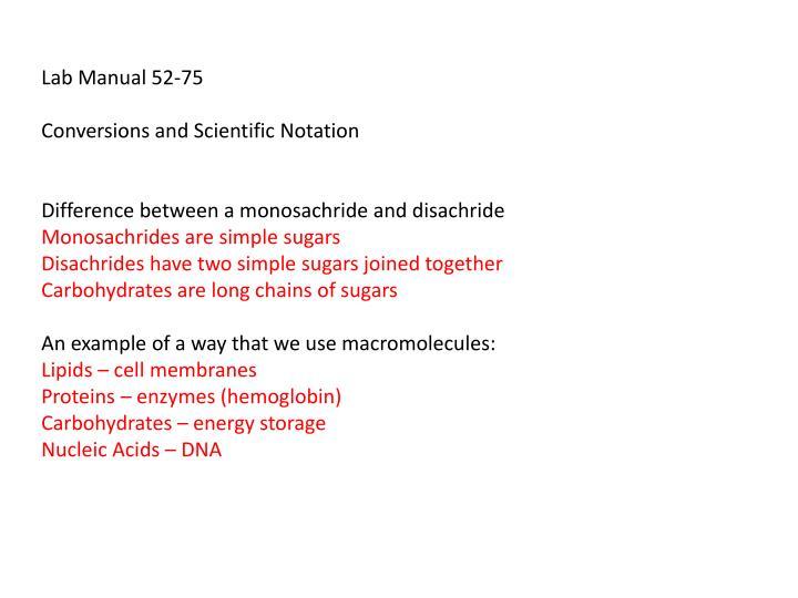 Lab Manual 52-75