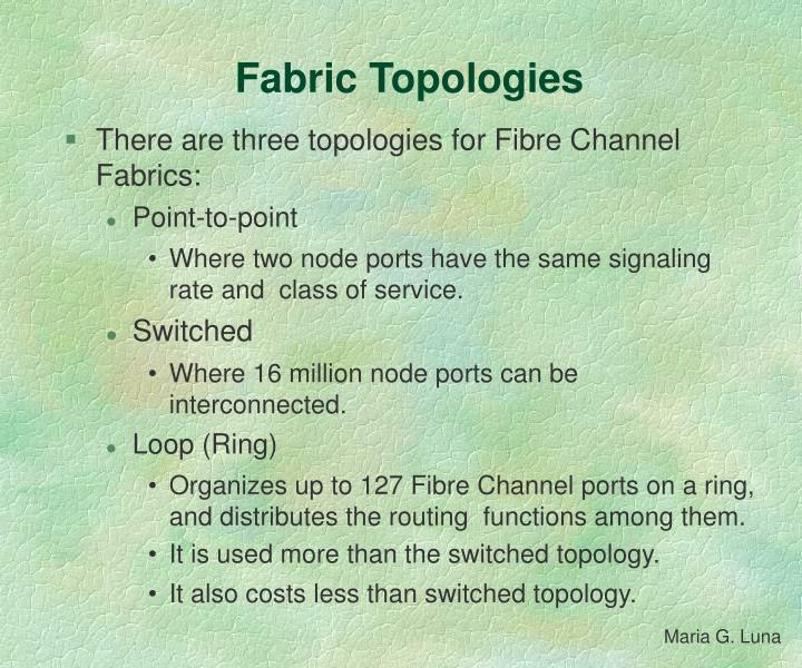 Fabric Topologies