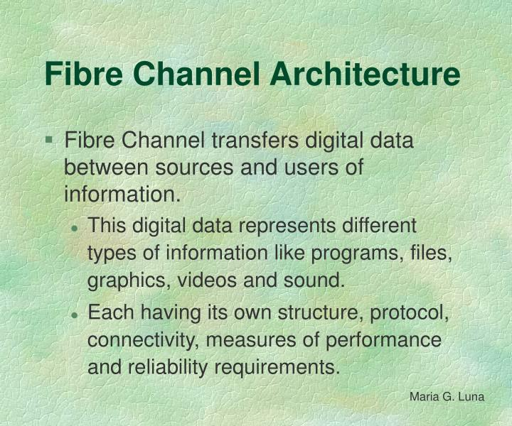 Fibre Channel Architecture