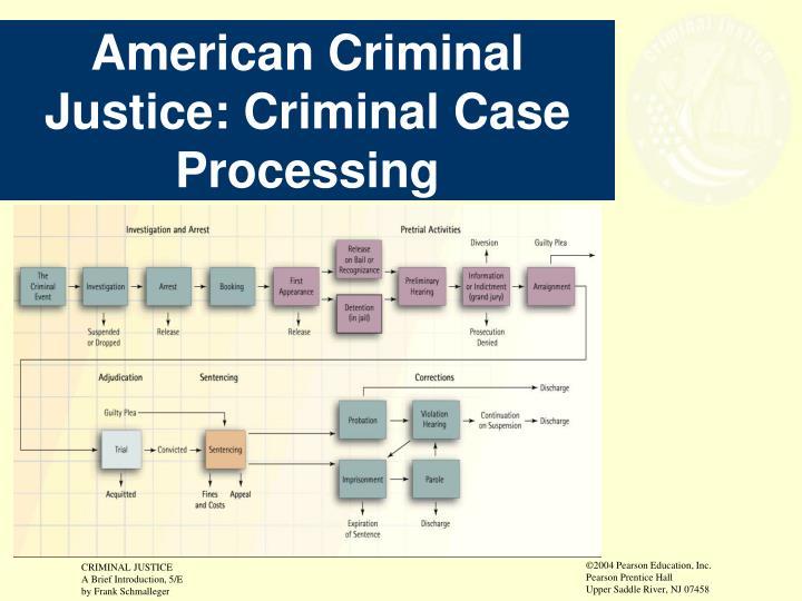 American Criminal Justice: Criminal Case Processing