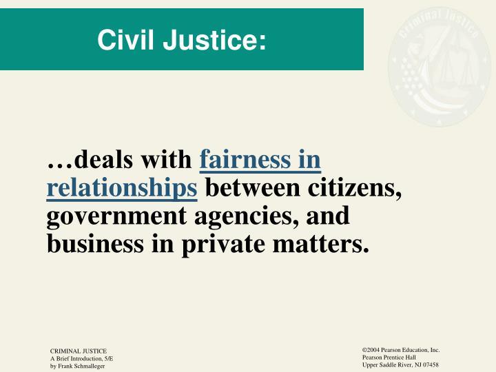 Civil Justice: