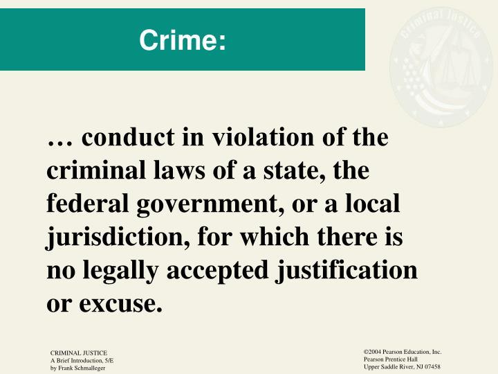 Crime: