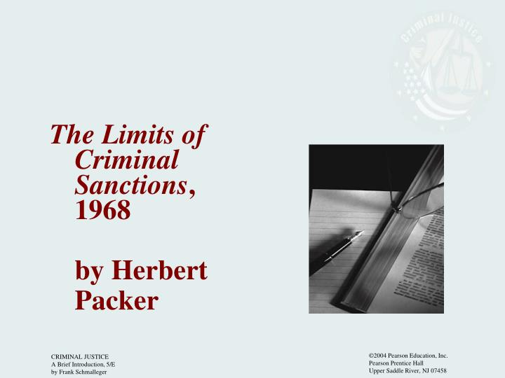 The Limits of Criminal Sanctions