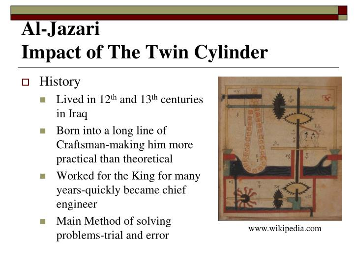 Al jazari impact of the twin cylinder2
