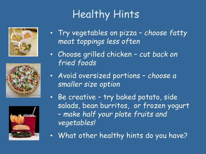 Healthy Hints