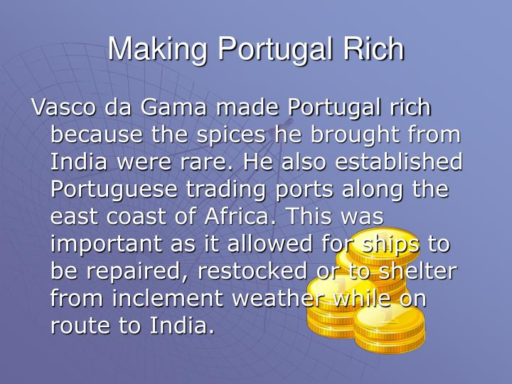 Making Portugal Rich