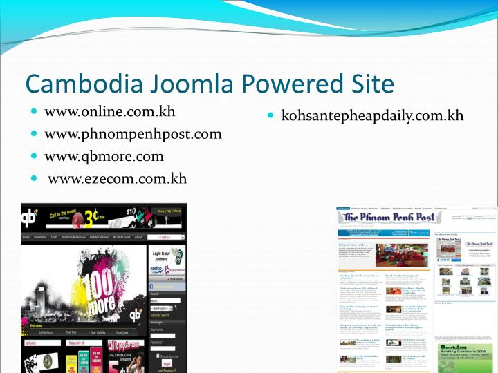 Cambodia Joomla Powered Site