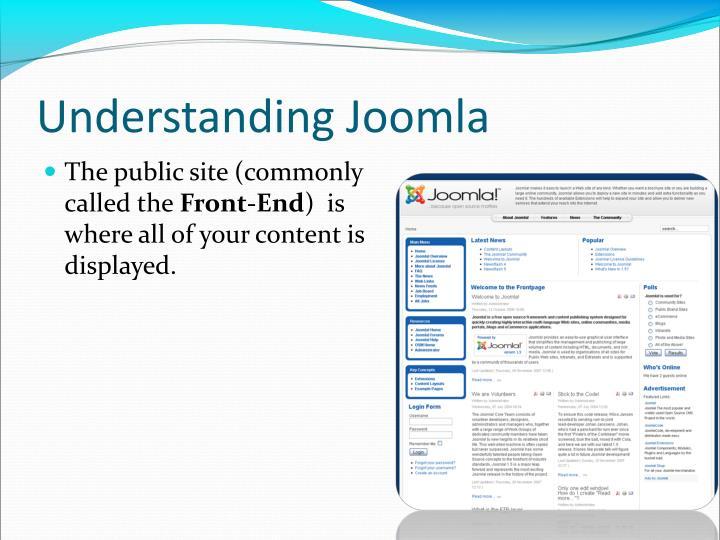 Understanding Joomla