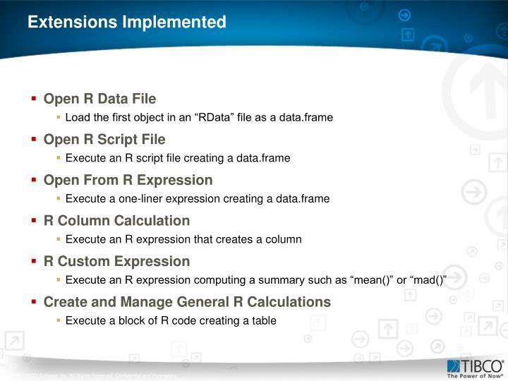 Open R Data File