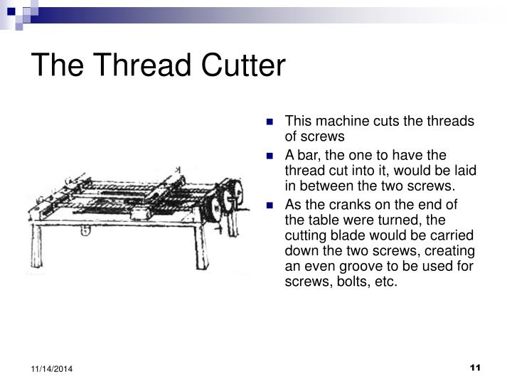 The Thread Cutter