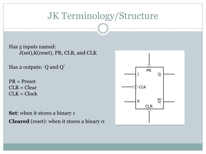 JK Terminology/Structure
