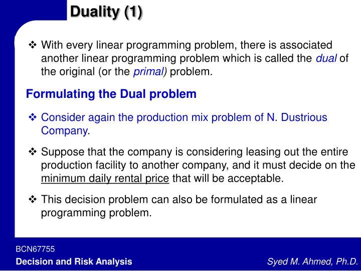 Duality (1)