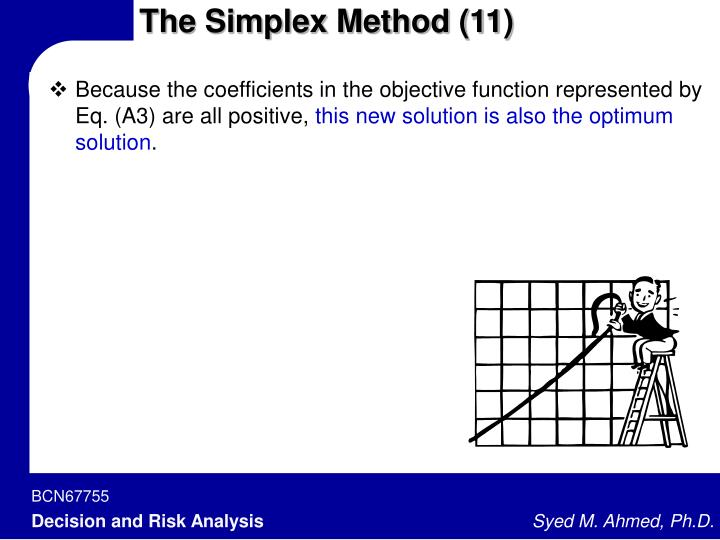 The Simplex Method (11)