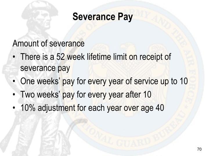 Severance Pay