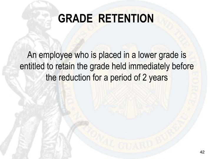 GRADE  RETENTION