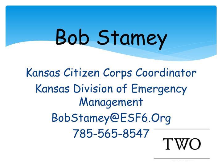 Bob Stamey