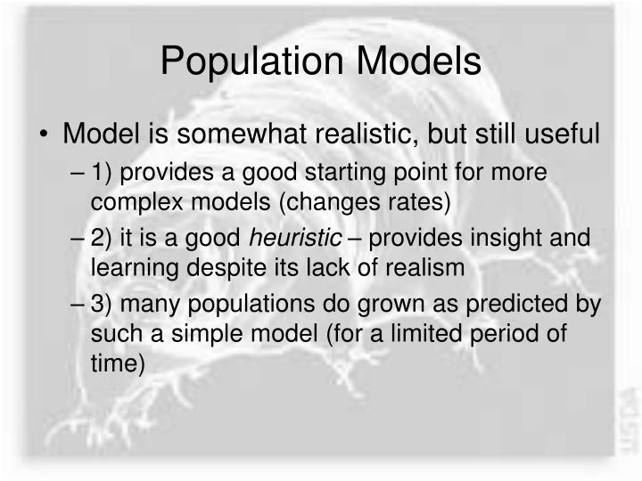 Population Models