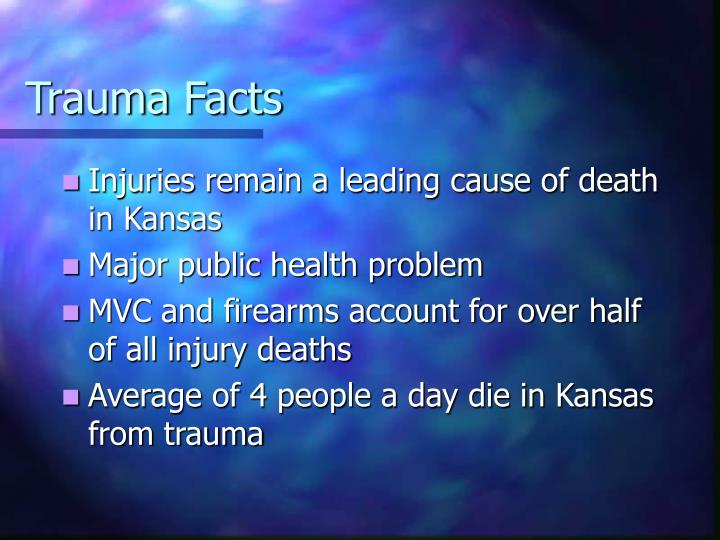 Trauma Facts