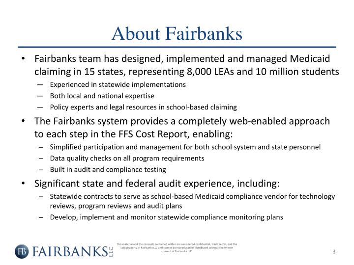 About Fairbanks
