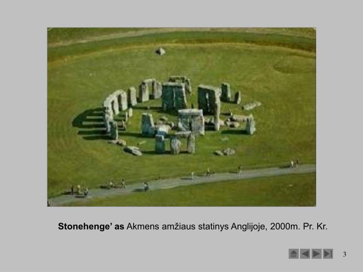 Stonehenge' as