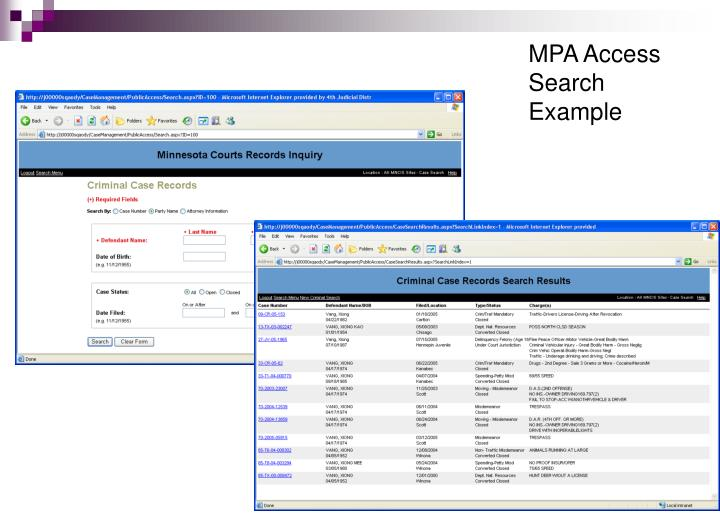 MPA Access