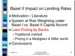basel ii impact on lending rates2