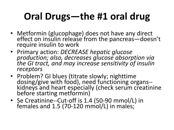Oral Drugs—the #1 oral drug