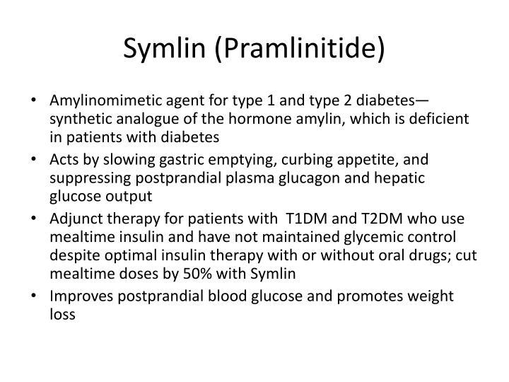 Symlin (Pramlinitide)