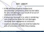 9257 liability