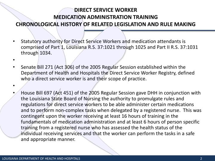 DIRECT SERVICE WORKER