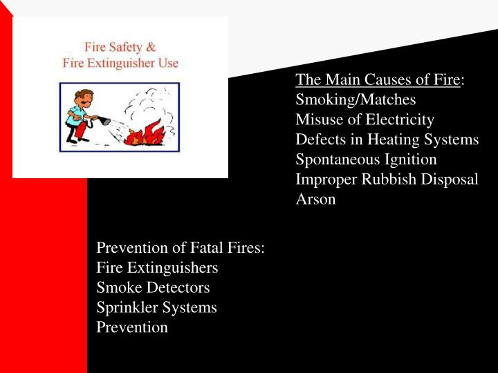 The Main Causes of Fire