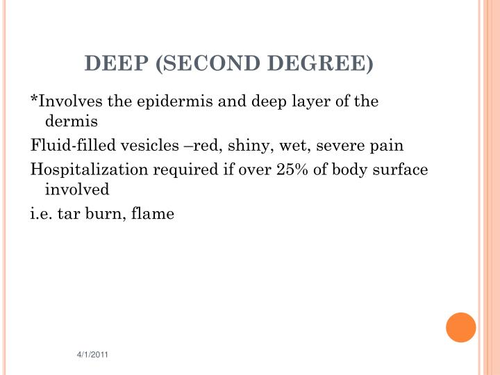 DEEP (SECOND DEGREE)
