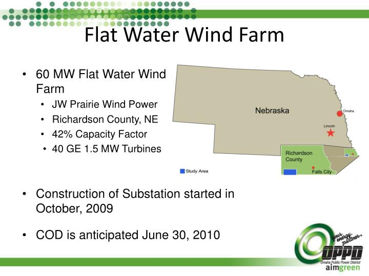 Flat Water Wind Farm