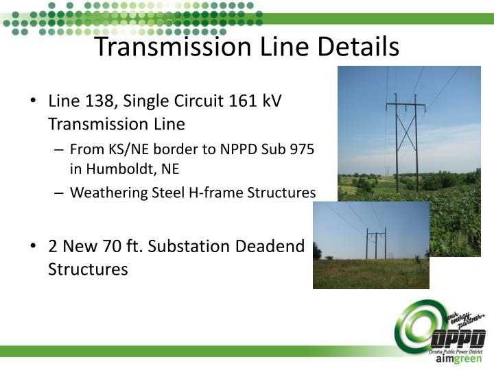 Transmission Line Details