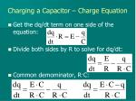 charging a capacitor charge equation1