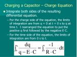 charging a capacitor charge equation3