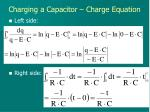 charging a capacitor charge equation4