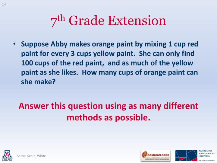 Suppose Abby makes orange paint by mixing 1 cup red paint for every 3 cups yellow paint.  She can only find 100 cups of the red paint,  and as much of the yellow paint as she likes.  How many cups of orange paint can she make?