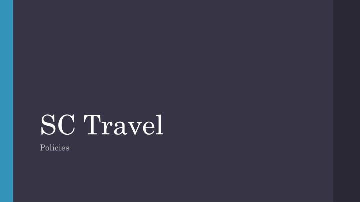 SC Travel