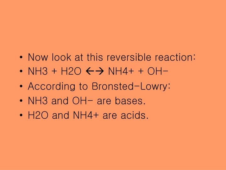 Now look at this reversible reaction:
