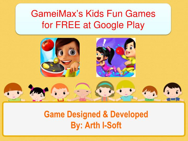 Game designed developed by arth i soft