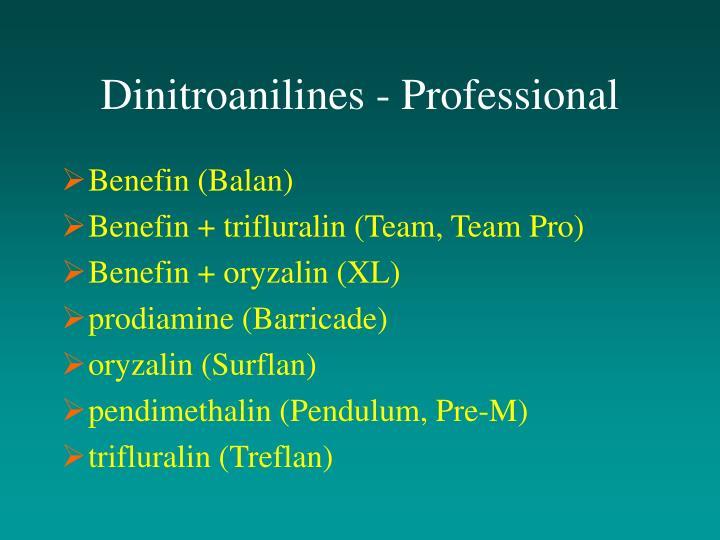 Dinitroanilines - Professional