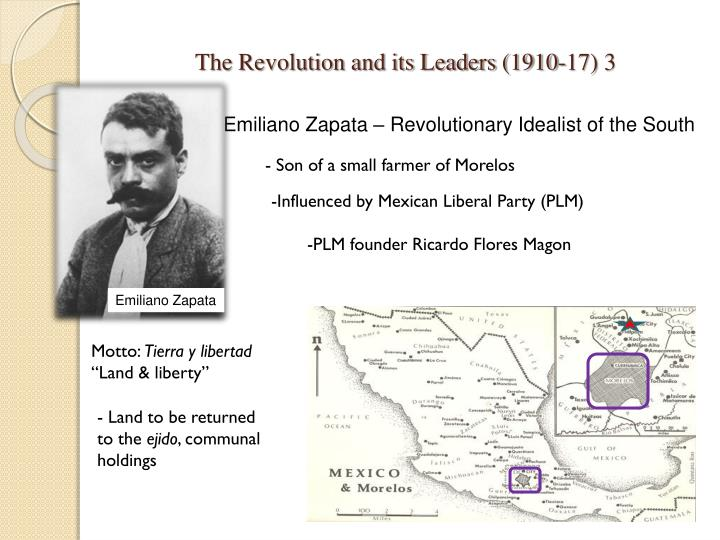 The revolution and its leaders 1910 17 3