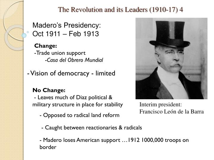 The Revolution and its Leaders (1910-17) 4